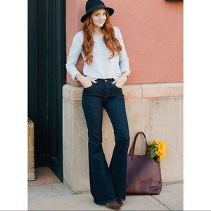 Madewell | Flea Market Flare Jeans 32 Retro Boho